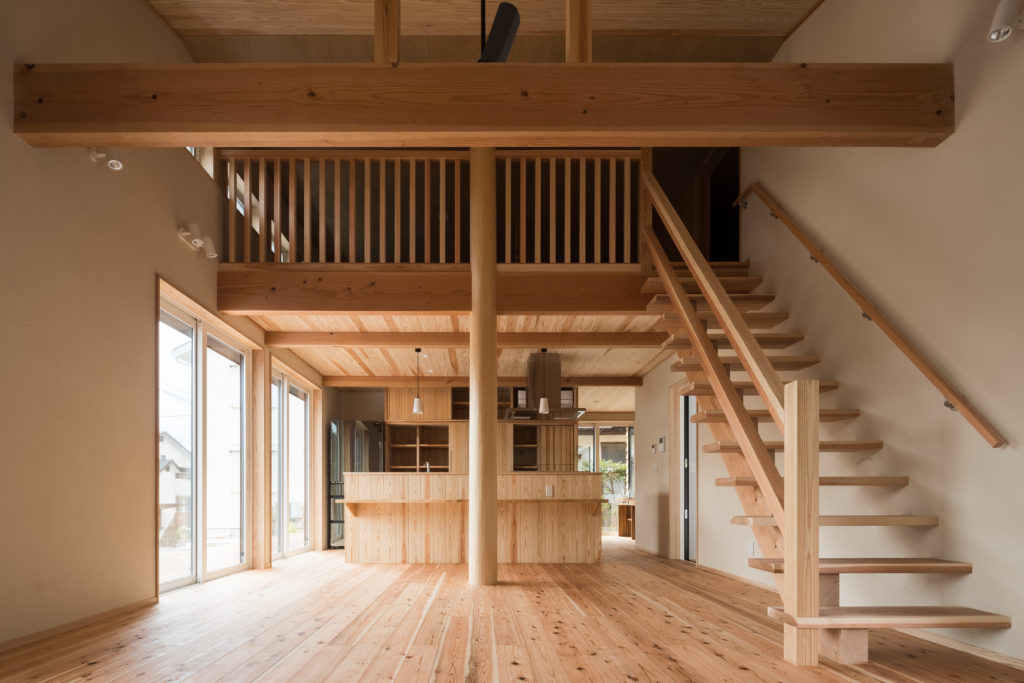 全面板張り平屋ガレージハウス (鎌倉市Y様邸)