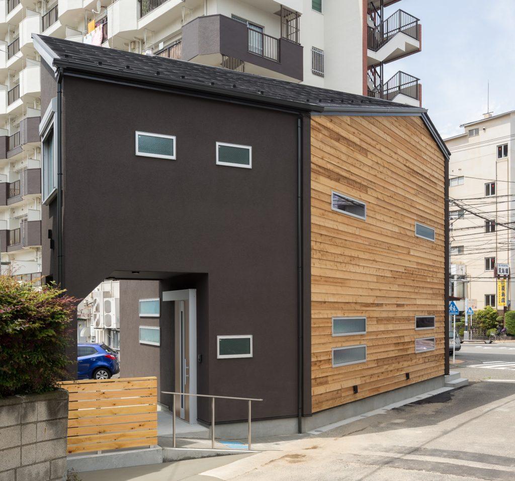 狭小変形地の介護住宅 (横須賀市K様邸)