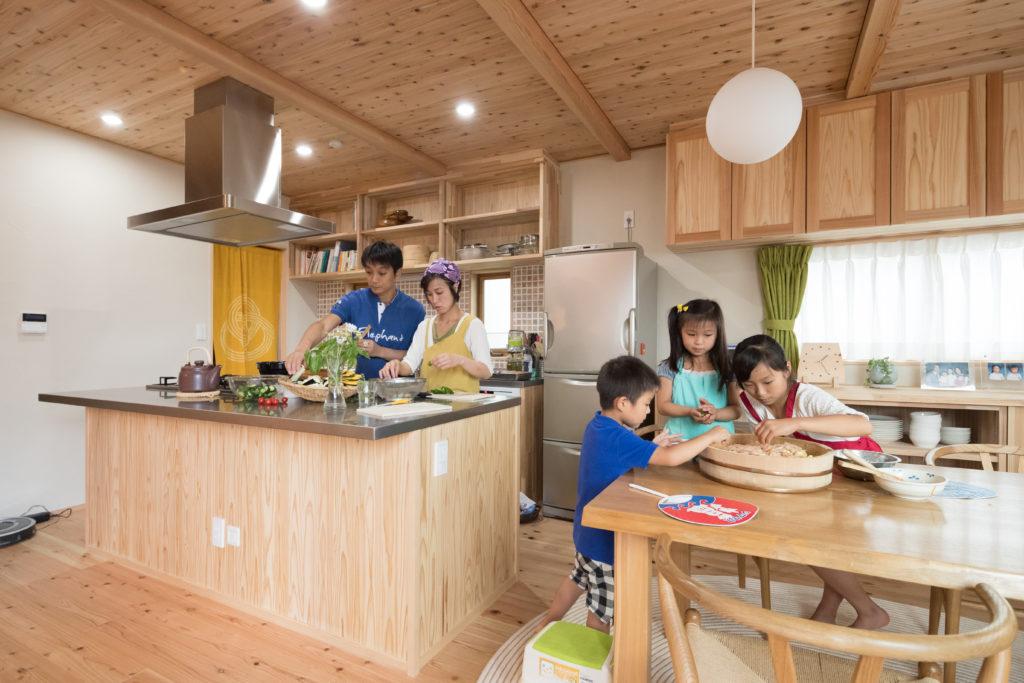 料理教室ができる家 (青葉区S様邸)
